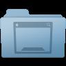 96x96px size png icon of Desktop Folder Blue
