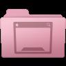 96x96px size png icon of Desktop Folder Sakura
