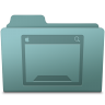 96x96px size png icon of Desktop Folder Willow