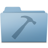 96x96px size png icon of Developer Folder Blue