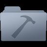 96x96px size png icon of Developer Folder Graphite