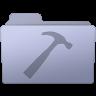 96x96px size png icon of Developer Folder Lavender