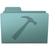 96x96px size png icon of Developer Folder Willow