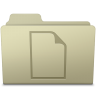 96x96px size png icon of Documents Folder Ash