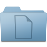 96x96px size png icon of Documents Folder Blue