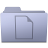 96x96px size png icon of Documents Folder Lavender