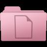 96x96px size png icon of Documents Folder Sakura