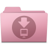 96x96px size png icon of Downloads Folder Sakura