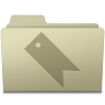 96x96px size png icon of Favorites Folder Ash