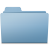 96x96px size png icon of Generic Folder Blue