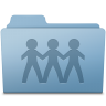 96x96px size png icon of GenericSharepoint New Blue