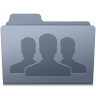 96x96px size png icon of Group Folder Graphite