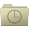 96x96px size png icon of History Folder Ash