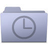 96x96px size png icon of History Folder Lavender