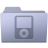 96x96px size png icon of IPod Folder Lavender