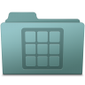 96x96px size png icon of Icons Folder Willow