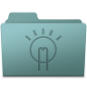 96x96px size png icon of Idea Folder Willow