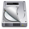 96x96px size png icon of Internal Drive Half open