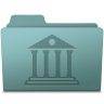 96x96px size png icon of Library Folder Willow