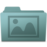 96x96px size png icon of Photo Folder Willow