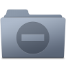 96x96px size png icon of Private Folder Graphite