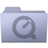 96x96px size png icon of QuickTime Folder Lavender