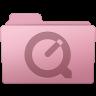 96x96px size png icon of QuickTime Folder Sakura