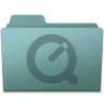 96x96px size png icon of QuickTime Folder Willow