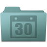 96x96px size png icon of Schedule Folder Willow