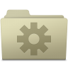 96x96px size png icon of Setting Folder Ash