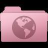 96x96px size png icon of Sites Folder Sakura