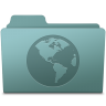 96x96px size png icon of Sites Folder Willow