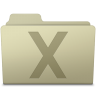 96x96px size png icon of System Folder Ash