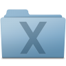 96x96px size png icon of System Folder Blue