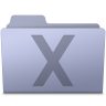 96x96px size png icon of System Folder Lavender
