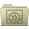 96x96px size png icon of System Preferences Folder Ash
