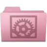 96x96px size png icon of System Preferences Folder Sakura