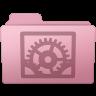 96x96px size png icon of System Preferences Folder Sakura