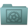 96x96px size png icon of System Preferences Folder Willow