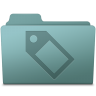 96x96px size png icon of Tag Folder Willow