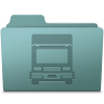 96x96px size png icon of Transmit Folder Willow