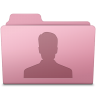 96x96px size png icon of Users Folder Sakura