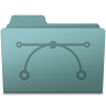 96x96px size png icon of Vector Folder Willow