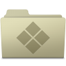 96x96px size png icon of Windows Folder Ash