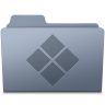 96x96px size png icon of Windows Folder Graphite