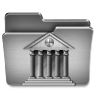 96x96px size png icon of Library Mac