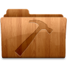 96x96px size png icon of Glossy Developer