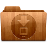 96x96px size png icon of Glossy Downloads