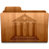 96x96px size png icon of Glossy Library