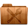 96x96px size png icon of Glossy Utilities